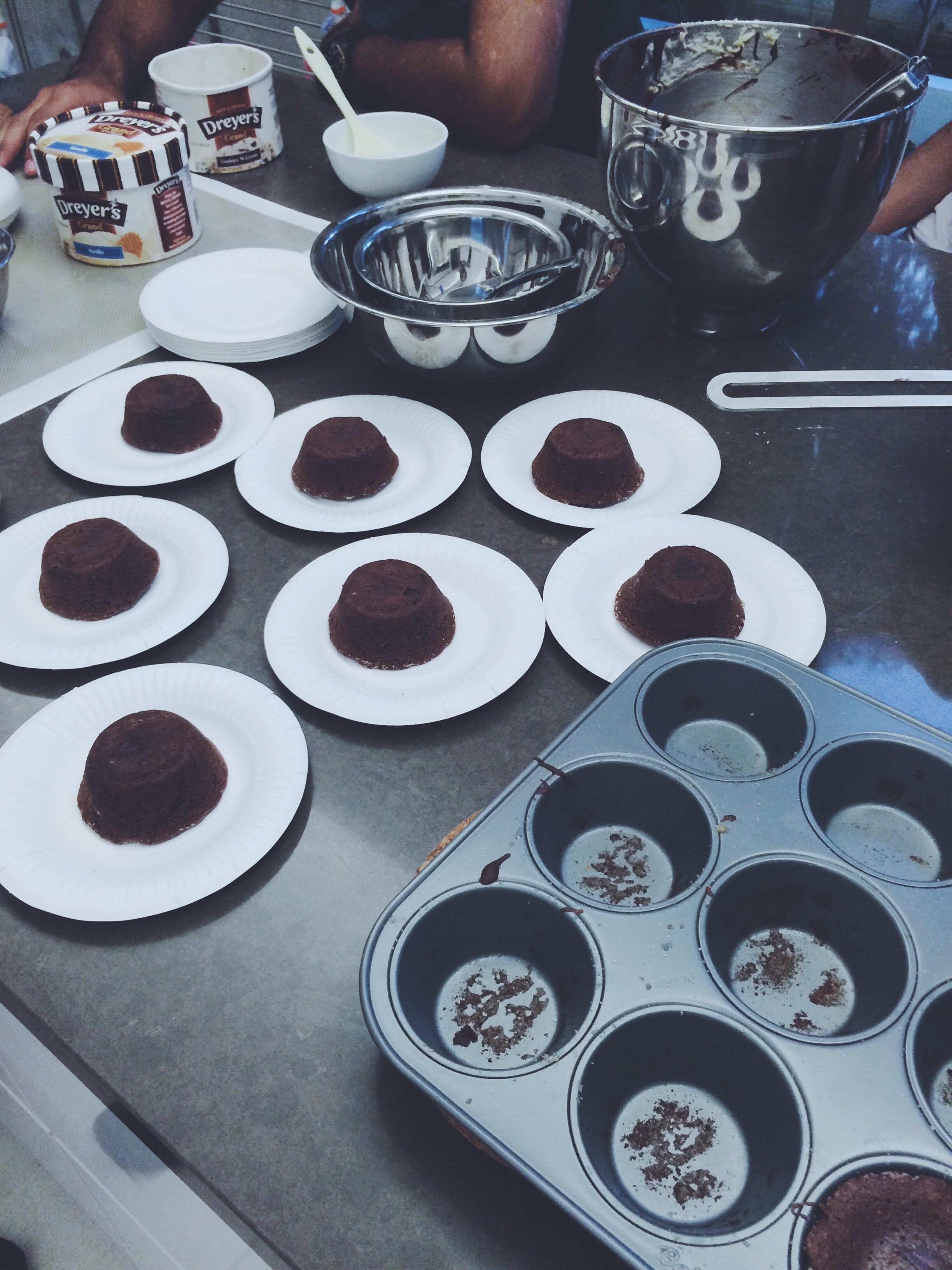 Mini Lava Cake Pans
