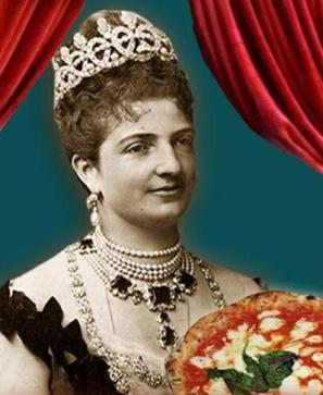 Queen Margherita in all her magnificence
